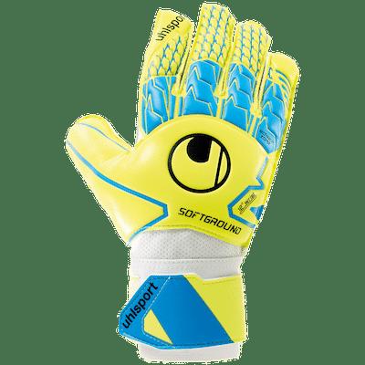 uhlsport.2019.keepershandschoenen.blauw.geel.