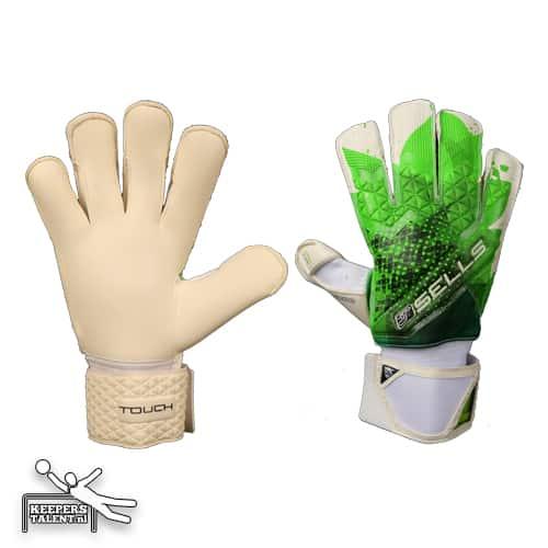 sells.wa4.keepershandschoenen.groen.wit.