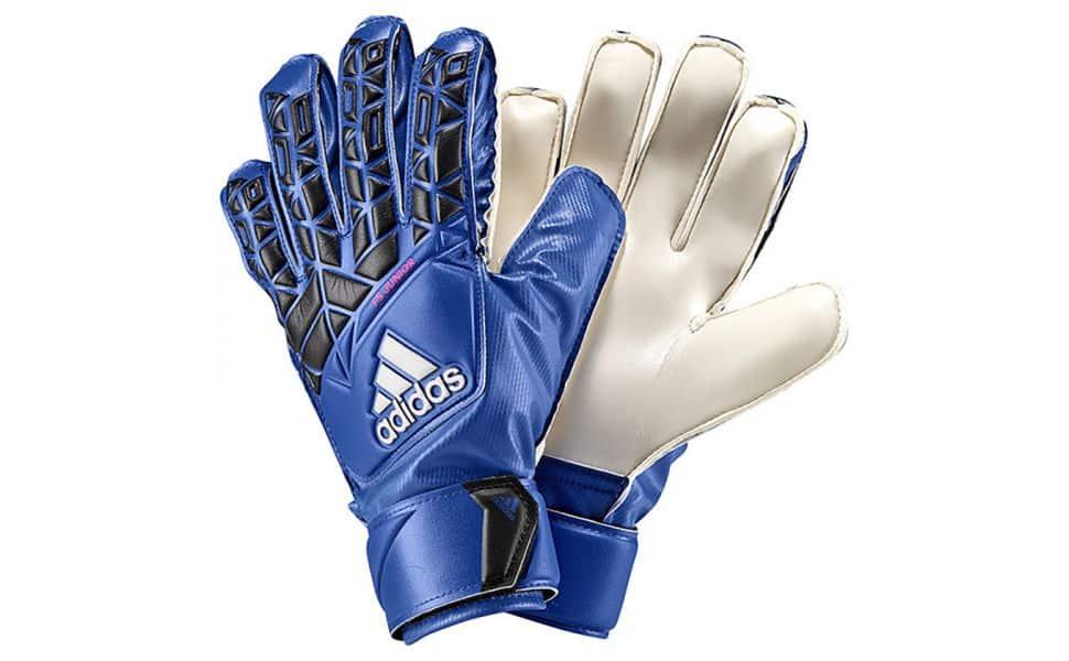 adidas.fs.junior.keepershandschoenen.blauw.wit.zwart.
