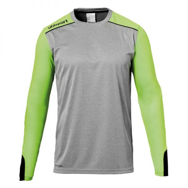 Uhlsport.tower.keepersshirt.grijs.groen1
